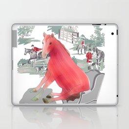 Farm Animals in Chairs #5 Horse Laptop & iPad Skin