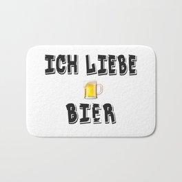 German Beer Drinking Bath Mat