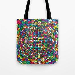Focus Geometric Art Print. Tote Bag