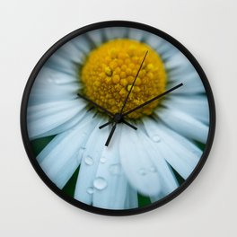 Flower Photography by Téo Leguay Wall Clock