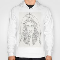 allison argent Hoodies featuring Allison by Wolfhearted