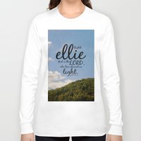 ellie goulding Long Sleeve T-shirts featuring Ellie by KimberosePhotography