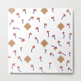 chilling pattern Metal Print