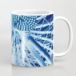 Ferris wheel in midnight blue Coffee Mug