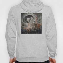 Black Battle Dragon Hoody