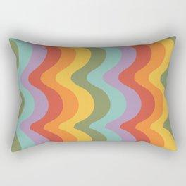Rainbow Stripes 2 Rectangular Pillow