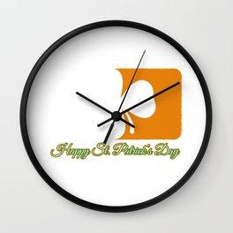 St. Patricks Wall Clock