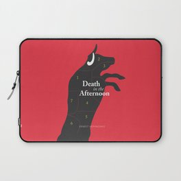 Ernest Hemingway book cover & Poster, Death in the Afternoon, bullfighting stories Laptop Sleeve