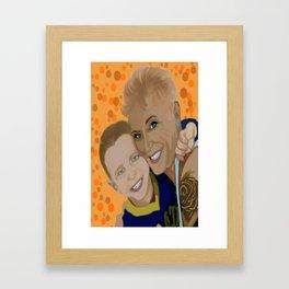 debbie and brody 1 Framed Art Print