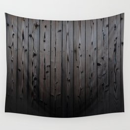 Silvered Slats Wall Tapestry