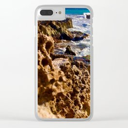 Tides of Cancún Clear iPhone Case
