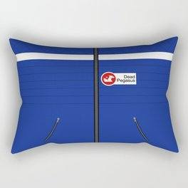 Party Poison Outfit Rectangular Pillow