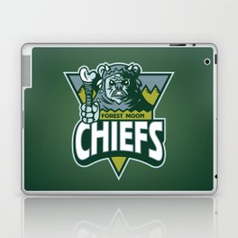 Forest Moon Chiefs - Green Laptop & iPad Skin