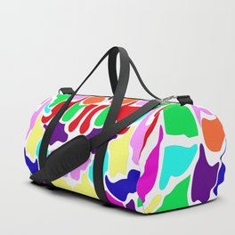 Bright Summer Camouflage Duffle Bag