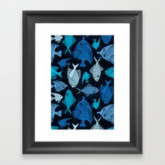 Oceanic Framed Art Print