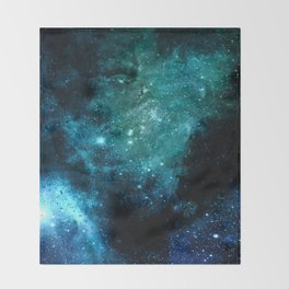 β Canum Venaticorum Throw Blanket