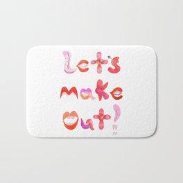 Let's Make Out! Bath Mat