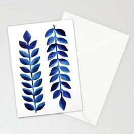 Tropical Indigo Stationery Cards