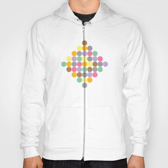 Candy Rounds Coal (white available too) Hoody