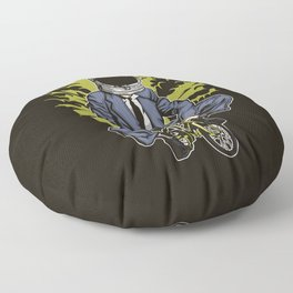 Astrobike Floor Pillow