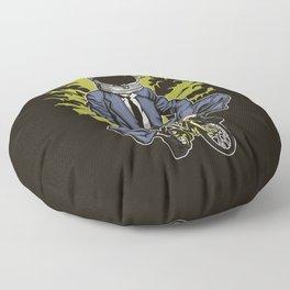 Astrobike Floor Pillow