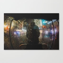Rickshaw Canvas Print