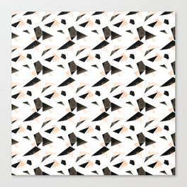 Triangle Scatter Canvas Print