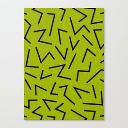 abstract zick zack Canvas Print