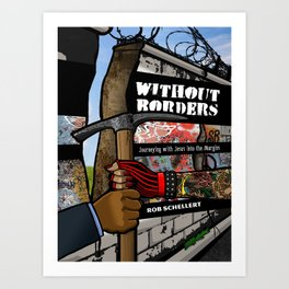Without Borders with Titles Art Print