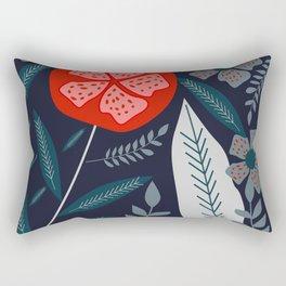 It blooms at night Rectangular Pillow
