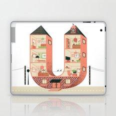 Letter U Laptop & iPad Skin