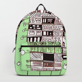 Abstract.African Backpack