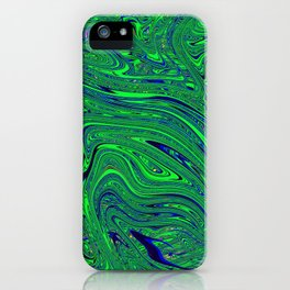 Psychedelic Abstract #1 iPhone Case