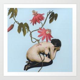 Between Passion and Despair Art Print
