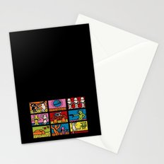 Keith Haring & star W.2 Stationery Cards