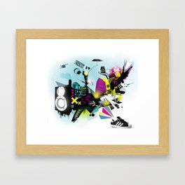Why Sneakers Smell Framed Art Print