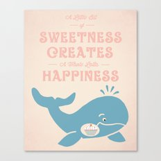 A Little Sweetness Canvas Print