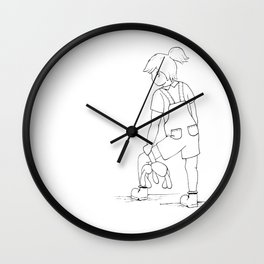Tilly & Scout Wall Clock