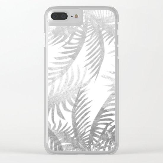 Jungle BW Clear iPhone Case