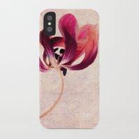 tulip iPhone & iPod Cases featuring Tulip by Claudia Drossert
