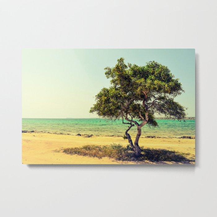 Cyprus Tree Metal Print