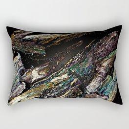 COLLAGE LOVE   WOODSIE WOO. Rectangular Pillow