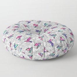 Windsong Watercolor Floor Pillow
