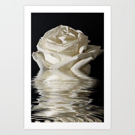 Rose Flood Art Print