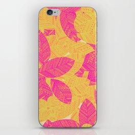 Geo Floral iPhone Skin
