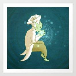 Soul Glow Art Print