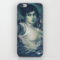 korra iPhone & iPod Skins featuring Korra by MATT DEMINO