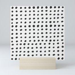 Scribble Dots Mini Art Print