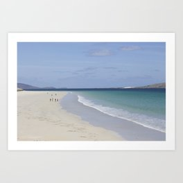 Beach 3 Lewis and Harris 3 Art Print