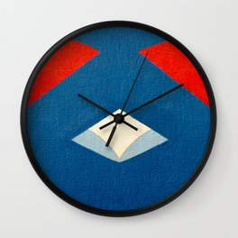 Lucha Libre Mask 3 Wall Clock